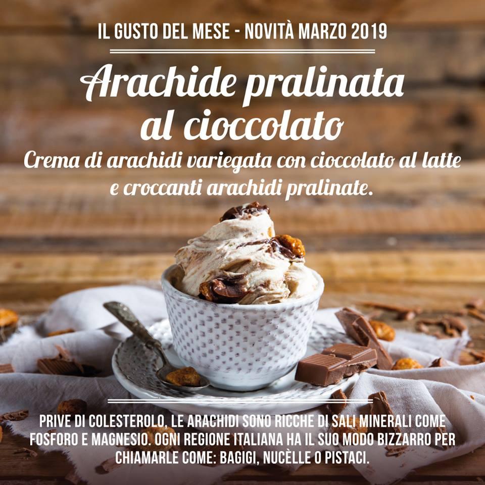 Gelateria La Romana: Arachide pralinata al cioccolato