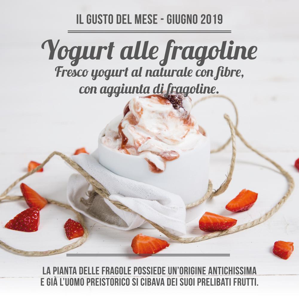 La Romana - Gelateria - Yogurt alle fragoline ITA