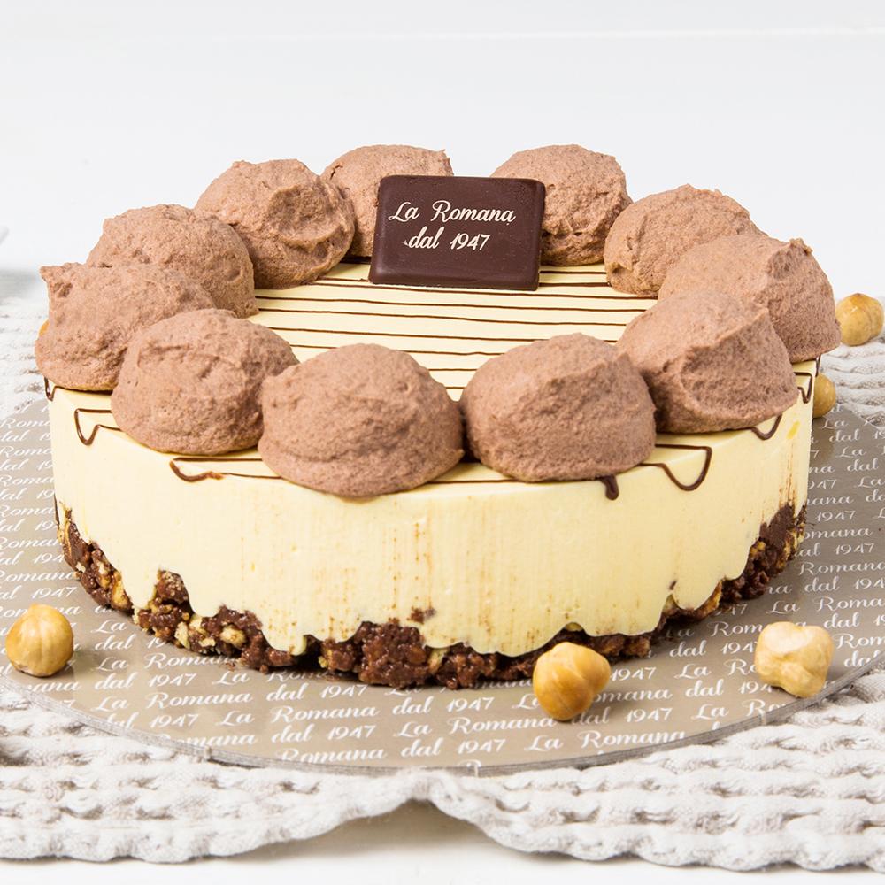 Frollina alla crema di nocciola al cacao - Gelateria La Romana